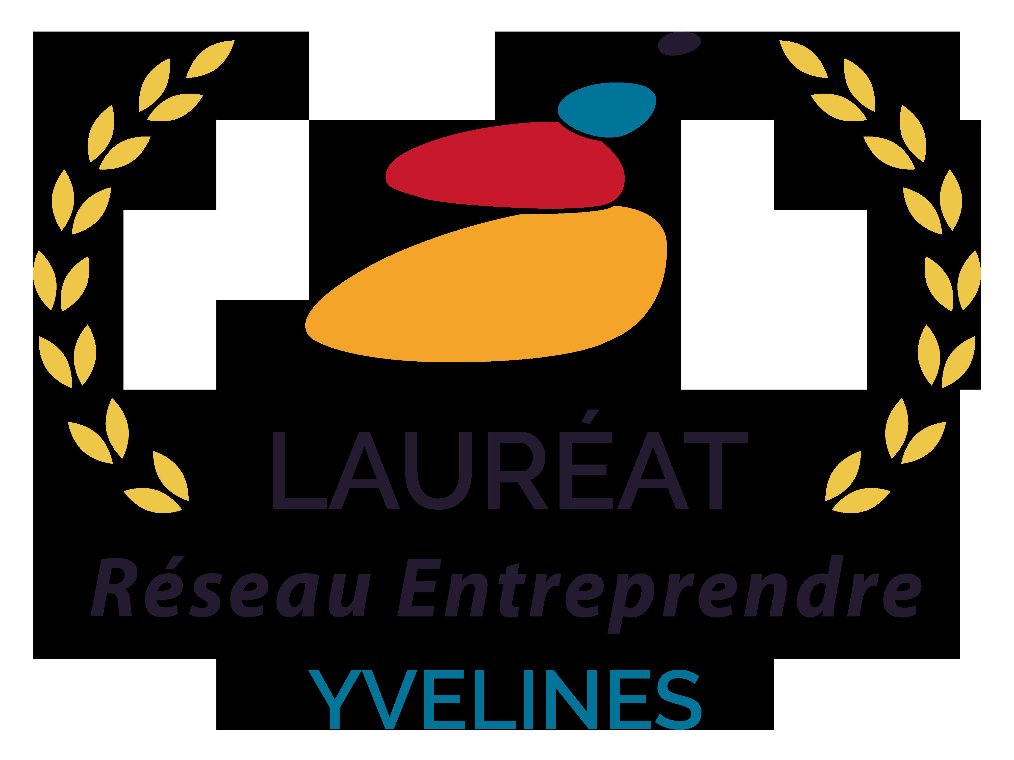 Logo lauréat RE Yvelines couleur