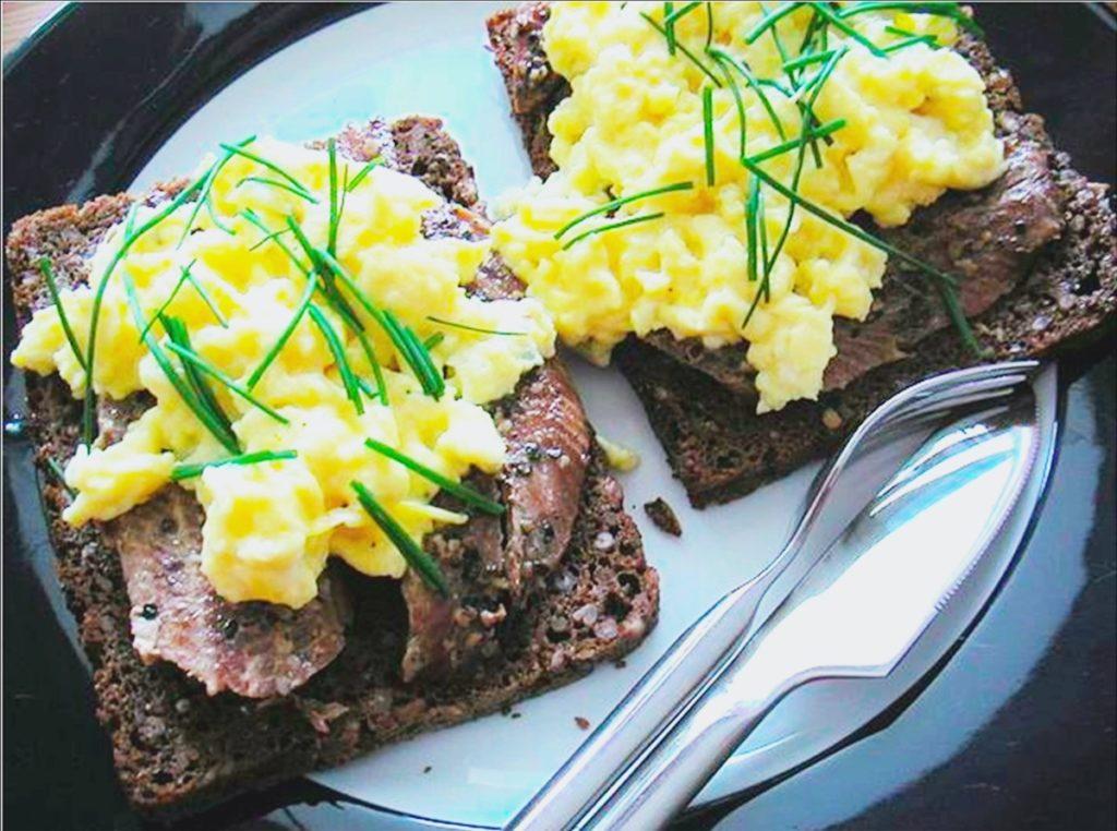 Petit déjeuner protéines