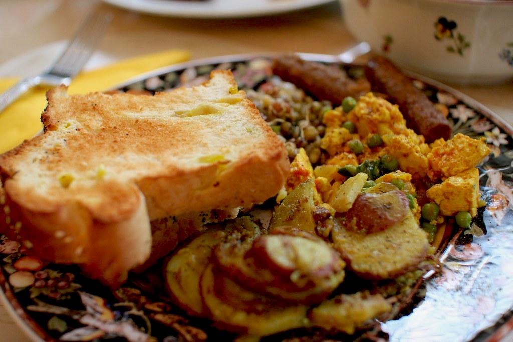 petit déjeuner Inde