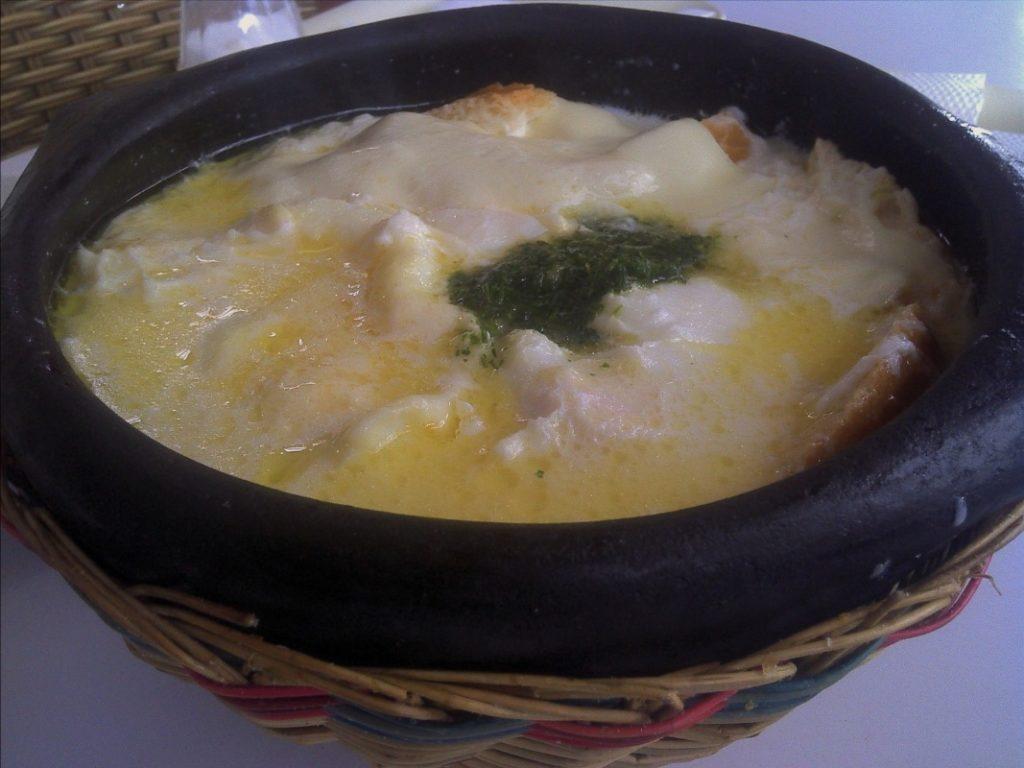 Petit déjeuner Colombie Changua