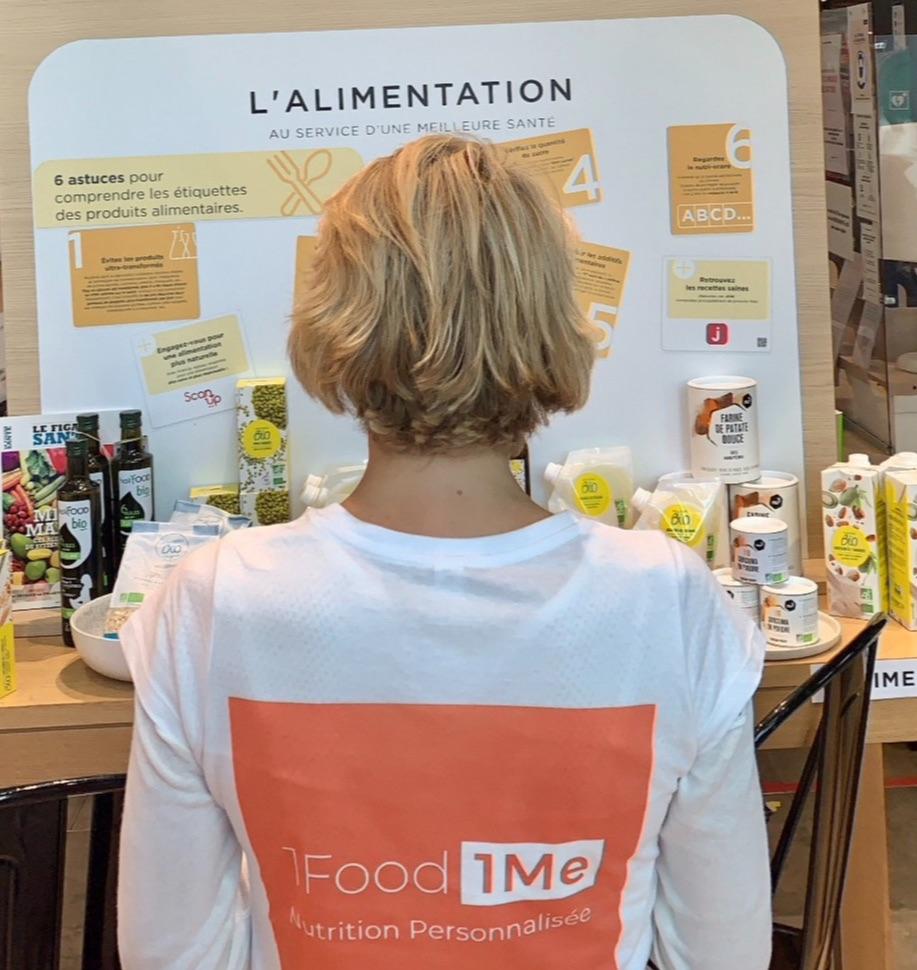 1Food1Me au corner Nutrition chez Monoprix